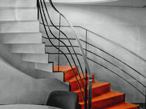 rote Treppe von Gisela Peter