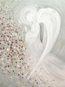 Engelmalerei - der weiße Engel by Chris Berger