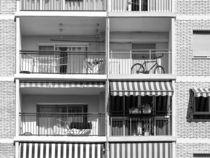 Common Apartament Building Block Exterior Facade by Radu Bercan