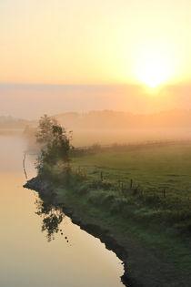 'Morgen mit Sonne, Wolken und Nebel' by Bernhard Kaiser