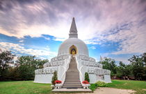 The Peace Stupa by Zoltan Duray