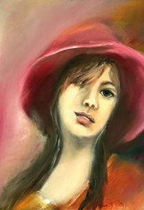 das Mädchen mit dem roten Hut von Ingrid Clement-Grimmer