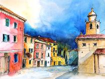 Corvara Ligurien Piazza Ildebrando von Hartmut Buse