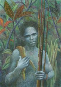 El indígeno (Hommage an Salgado) von Nicola Klemz