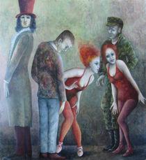 Absurde Gesellschaft by Nicola Klemz