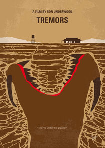 No688 My Tremors minimal movie poster by chungkong