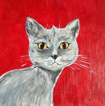 THE GRAY CAT von Hana Auerova