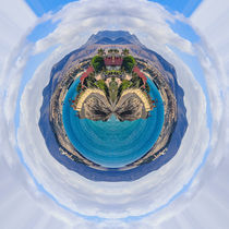 Little Planet Fuerteventura - Kleiner Planet Feurteventura by Silvia Eder