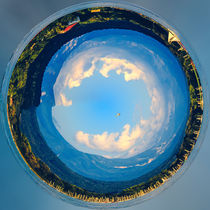 Little Planet Wörthersee - Kleiner Planet Wörthersee by Silvia Eder