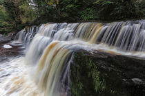 Sgwd y Pannwr waterfall by Leighton Collins