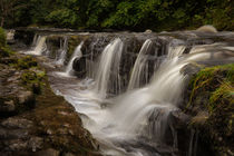 The gully at Panwar Waterfalls by Leighton Collins