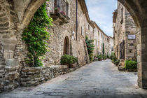 Vilanova Street (Monells, Catalonia) by Marc Garrido Clotet