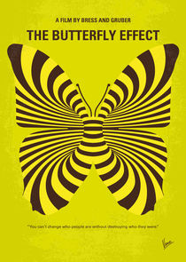 No697 My The Butterfly Effect minimal movie poster von chungkong