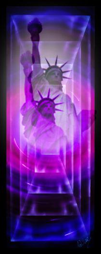 Freiheitsstatue New York von Walter Zettl
