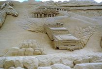 Sandskulptur aus Dänemark by Maik Harker