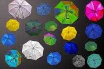 Regenschirme von Gisela Peter