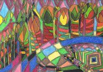 'Kerzenbaumallee / candletreealley' by Claudia Juliette Dittrich