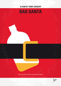 No702-my-bad-santa-minimal-movie-poster