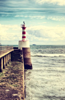 Amble Pier Lighthouse von Vicki Field