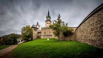 Church of St Catherine in Kremnica by Zoltan Duray