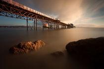 Morning at Mumbles pier von Leighton Collins