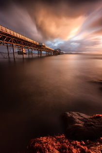 'Mumbles pier sunrise' by Leighton Collins