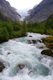 Briksdal Gletscher Norwegen by ann-foto