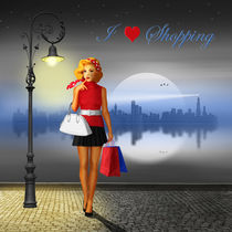 I love shopping by Monika Juengling