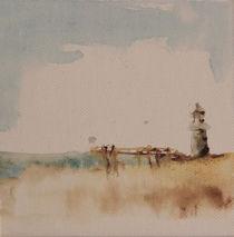 Aquarell-leuchtturm