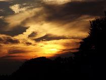 Sunset over the Edogawa 2 by Richard H. Jones