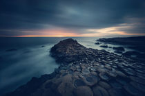 [:] GIANT'S CAUSEWAY WITH A SOFT GLOW [:] von Franz Sußbauer