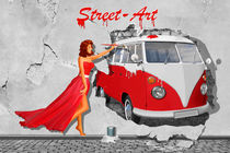 Street Art in Digital Art by Monika Juengling