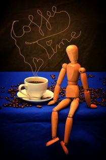 Coffee - Time by Claudia Evans
