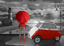Im Partnerlook mit Isetta Oldtimer by Monika Juengling