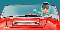 Die Cabriofahrerin  von Monika Juengling