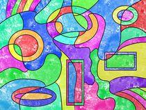 Farbenfroh von Gabi Siebenhühner