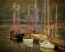 The Boats of Brixham by Edmund Nagele F.R.P.S.