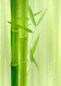 Bambus-hochformat