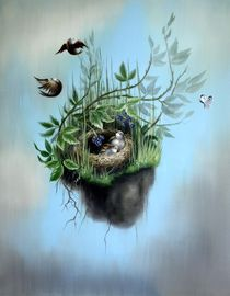 Wiese-nest