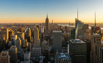 New York Cityscape at Dusk by Russell Bevan Photography