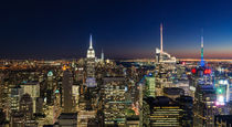 NYC Night - Colour by Russell Bevan Photography