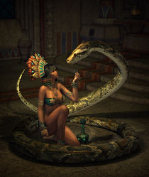 The-snake-sorceress