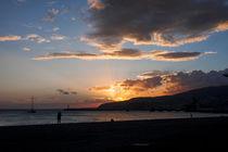 Sunset over Almeria, southern Spain by Jessy Libik