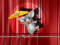 Maus im Rampenlicht by Monika Juengling