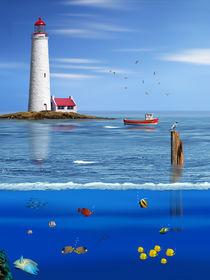 Über und Unterwasser von Monika Juengling