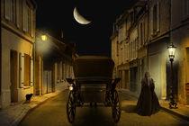 Die Altstadtgasse in der Nacht von Monika Juengling