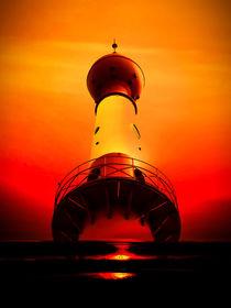 Leuchtturm - Romantik 2 von Walter Zettl