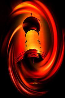 Leuchtturm - Romantik von Walter Zettl