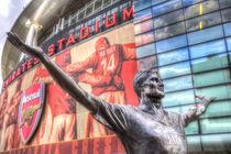 Tony Adams Statue Emirates Stadium by David Pyatt
