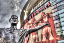 Tony Adams Statue Emirates Stadium by David Pyatt